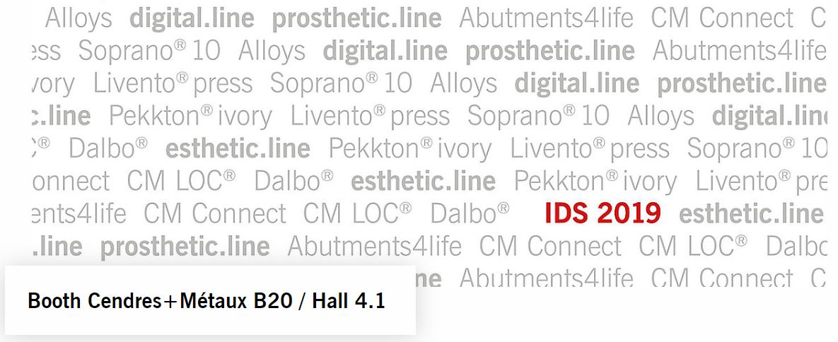 Cendres+Métaux – B 020 Hall 4.1.