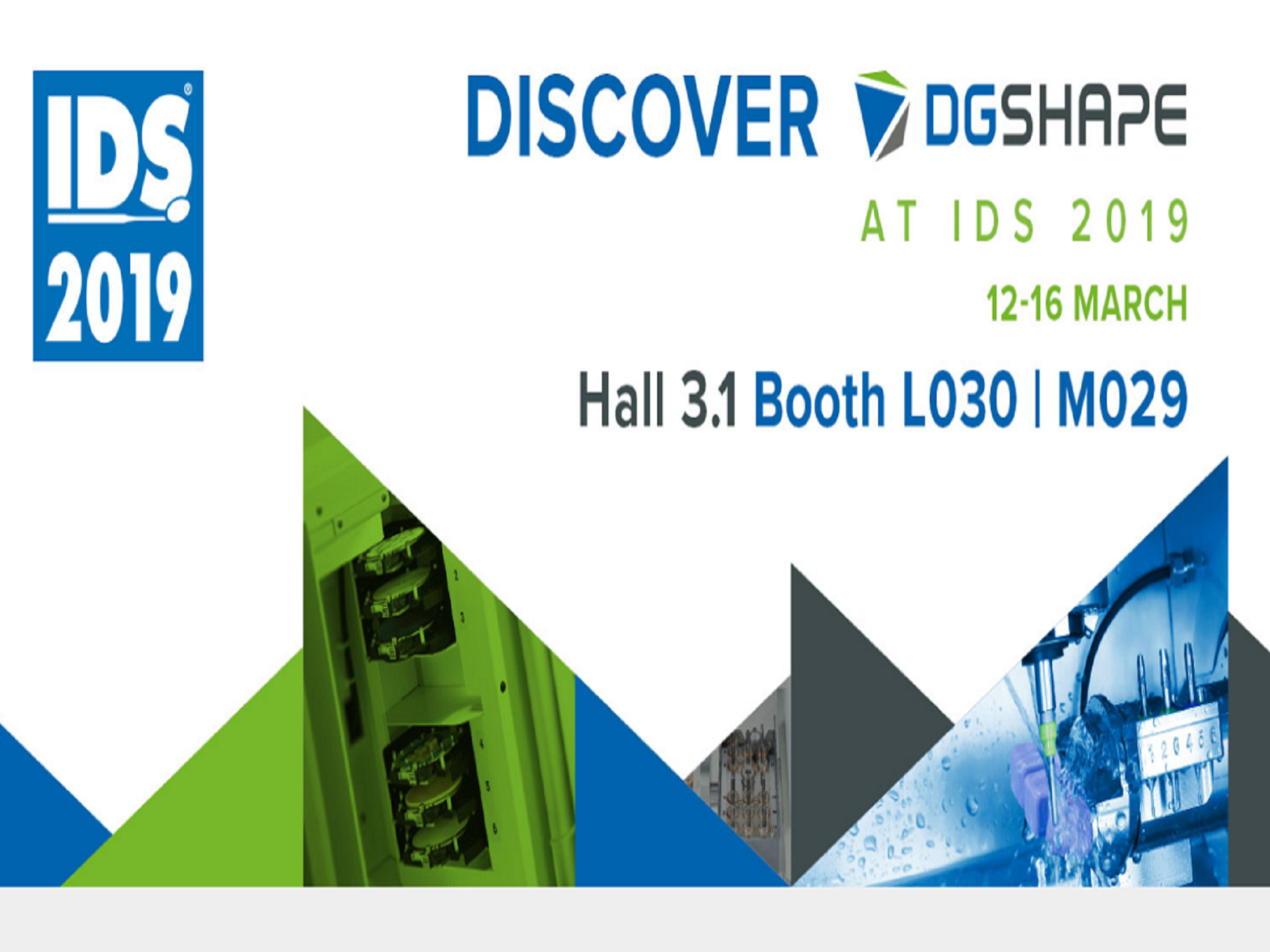 Visit DGSHAPE at IDS 2019